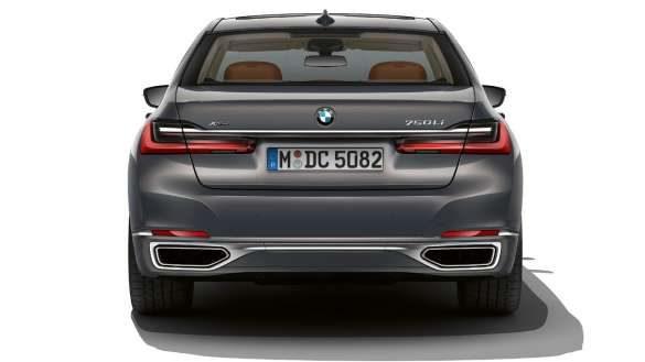 BMW 7er Limousine Heckschürze