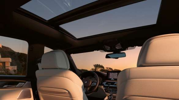 BMW 6er Gran Turismo Panorama-Glasdach