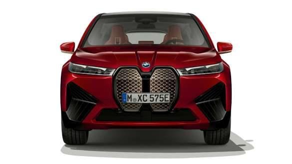 BMW iX Frontdesign