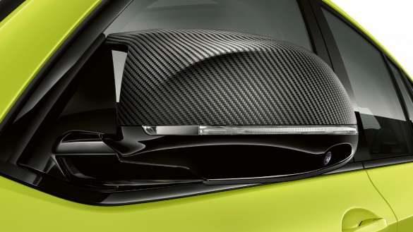BMW X4 M Competition F98 LCI Facelift 2021 Sao Paulo Gelb Heckdesign Heckansicht