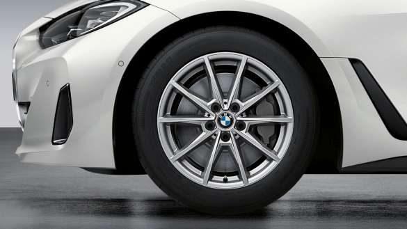 "18"" BMW Gussrad Doppelspeiche 853 Gunmetal Grey."